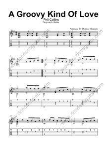 A Groovy Kind Of Love Fingerstyle Tabs